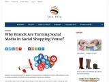 Why Brands Are Turning Social Media In Social Shopping Venue?