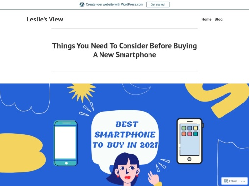 Things You Need To Consider Before Buying A New Smartphone