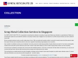 Scrap Metal Collection Company In Singapore