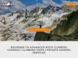 Unique Mountain Guide Training Adventures Courses in Switzerland
