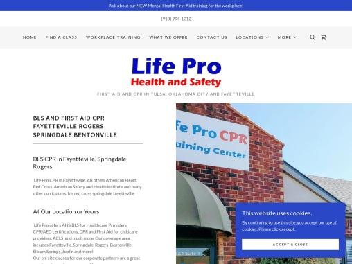 CPR Certification Fayetteville AR