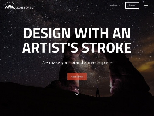 DESIGN WITH AN ARTIST'S STROKE