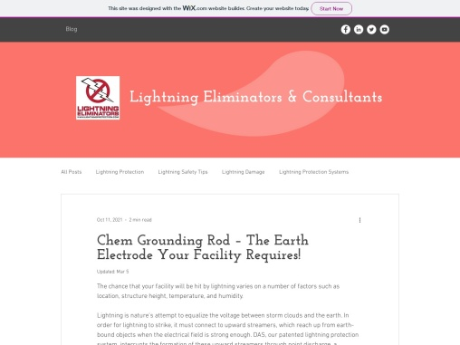 Chem Grounding Rod – The Earth Electrode Your Facility Requires!