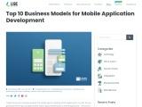 Top 10 Business Models for Mobile Application Development