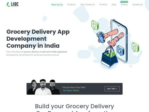 grocery app development company in India