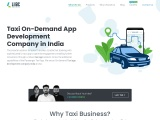 Taxi app development company- lilac infotech