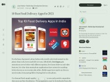 10 Best Food Delivery App India