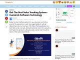 Get The Best Sales Tracking System software Free – Inwizards Software Technology