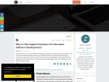 Why to Hire Zaptech Solutions for Education Software Development?