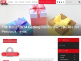 The Benefits of Getting Custom Gift Boxes for Precious Items