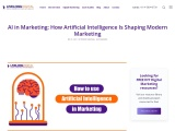 How Artificial Intelligence Is Shaping Modern Marketing