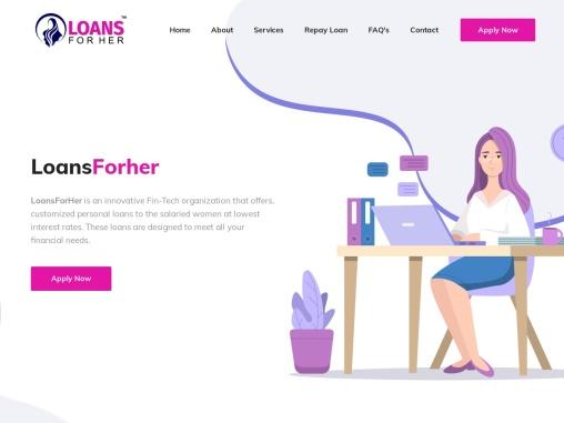 Instant loan for ladies.   Personal loan.   Online immediate personal loan.