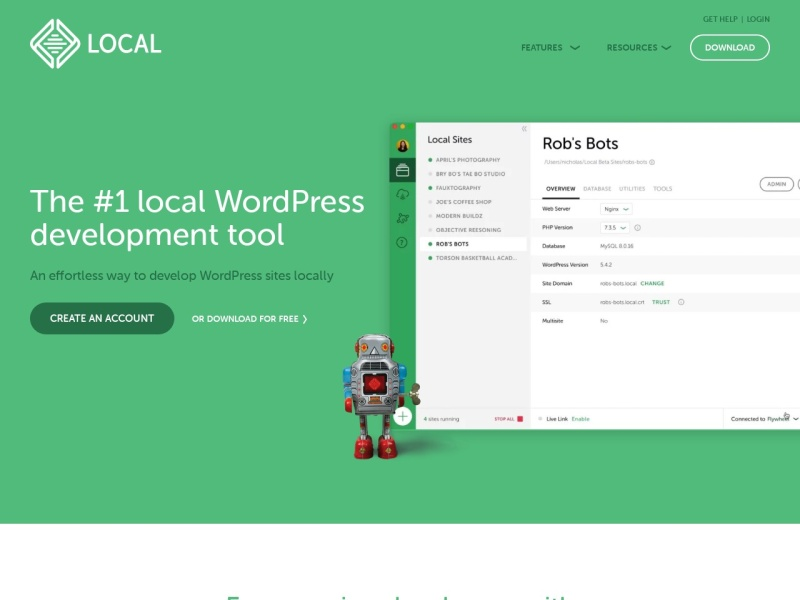 Local by Flywheel | Local WordPress development made simple