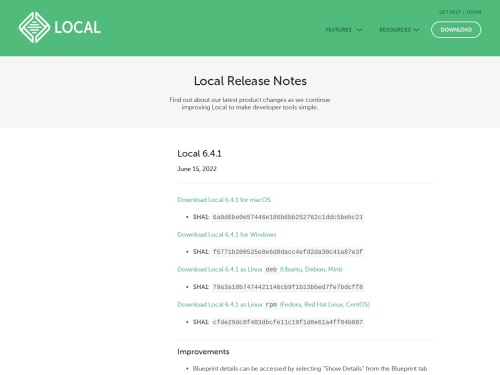 Local by Flywheel 3.3.0 – Releases – Local – Community