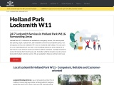 Emergency Locksmith Holland Park W11