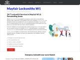 Emergency Locksmith Mayfair W1