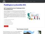 Emergency Locksmith Paddington W2
