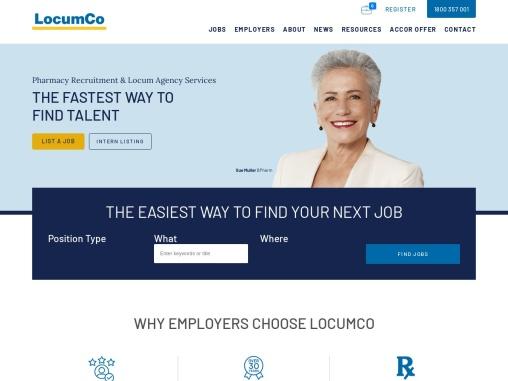 LocumCo   Pharmacy Recruitment Agency