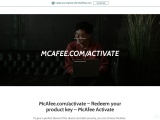 McAfee.com/activate – Redeem your product key – McAfee Activate
