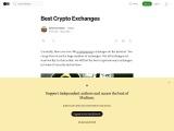 Best Crypto Exchanges Worldwide
