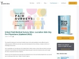 How to enroll with your first physician surveys online?