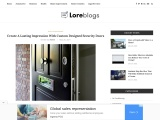 Create A Lasting Impression With Custom Designed Security Doors