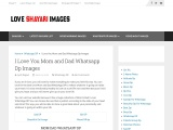 Mom and Dad Whatsapp Dp Images