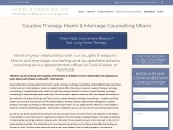 Marriage & Relationship Counseling, Couples Therapy Miami
