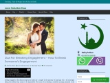 Dua For Breaking Engagement – How To Break Someone's Engagement