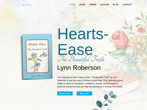 """""""Hearts-Ease: The Beautiful Truth"""" by Lynn Roberson"""