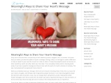 Meaningful Ways to Share Your Heart's Message
