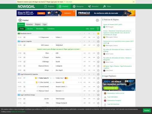 GoalooBR provides free soccer predictions. You can visit our website, we update live scores and live