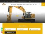 Excavator on Rent in UP (Uttar Pradesh) | Poclain Machine on Rent