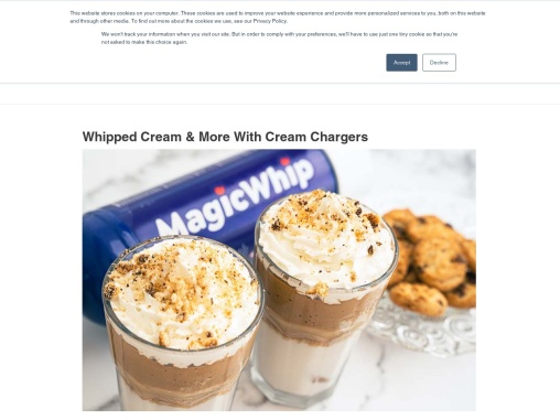 Where Can I Buy Whip Cream Chargers?