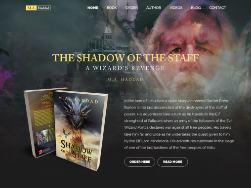 The Shadow of The Staff By Mark Haddad