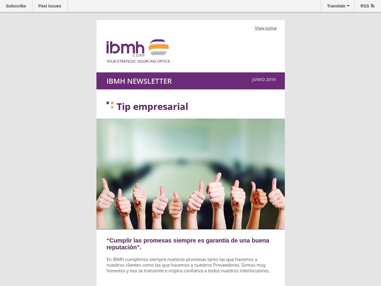 Boletín IBMH