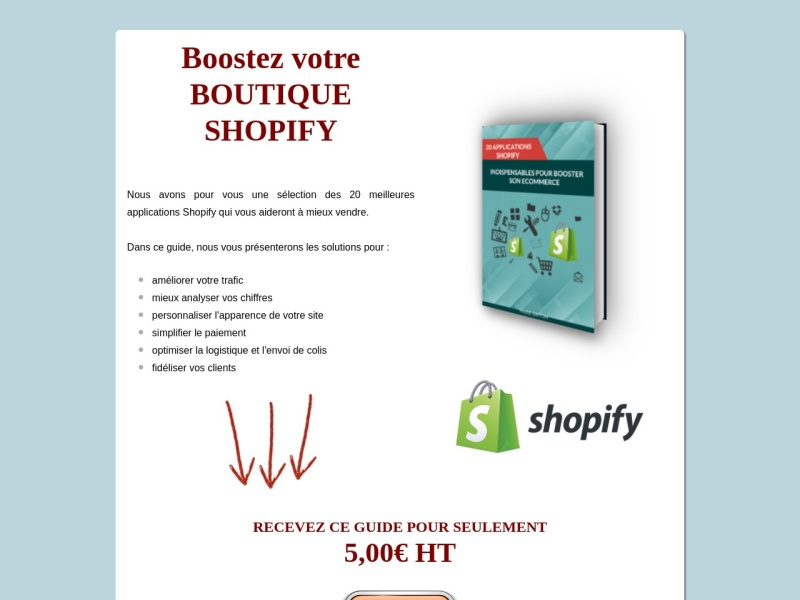 les 20 applications shopify indispensables