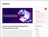 Create a Content Marketing Strategy for Your Personal Brand