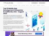 Top 100 Mobile App Development Companies in USA