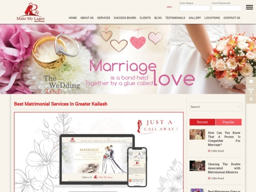 Best Matrimonial Services In Greater Kailash