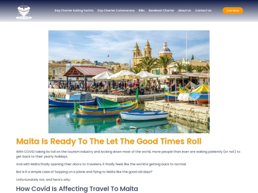 Malta Tourism   Malta Is Ready To The Let The Good Times Roll