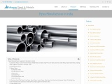 Pipes Manufacturer, Supplier & Stockist in India