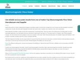 electromagnetic flow meter price