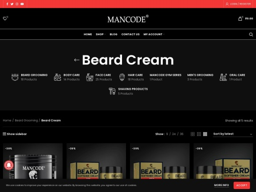 beard cream for beard growth – mancode