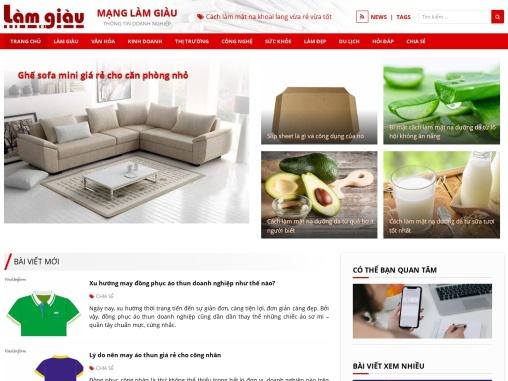 Website cap nhat tin tuc Viet Nam tong hop