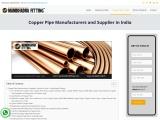 15 MM Copper Pipe Manufacturers in India