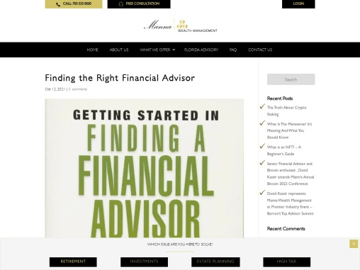 Finding the Right Financial Advisor | How to Choose a Financial Advisor