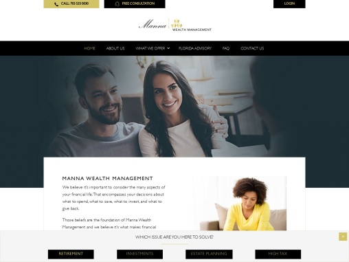 Top Financial Advisor | Manna Wealth Management