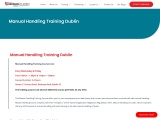 Top Manual Handling Training Courses at Guardian Safety