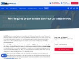 MOT Required By Law to Make Sure Your Car is Roadworthy